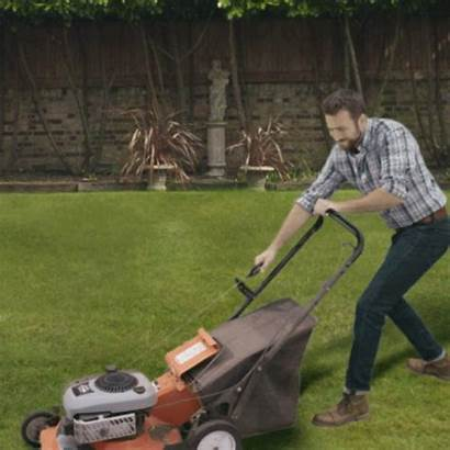 Lawn Mower Yard Pull Service Money Self