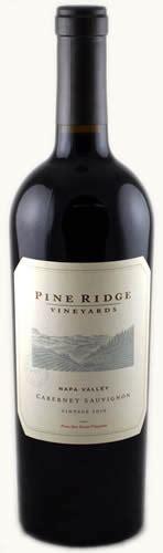 2008 Pine Ridge Napa Valley Cabernet