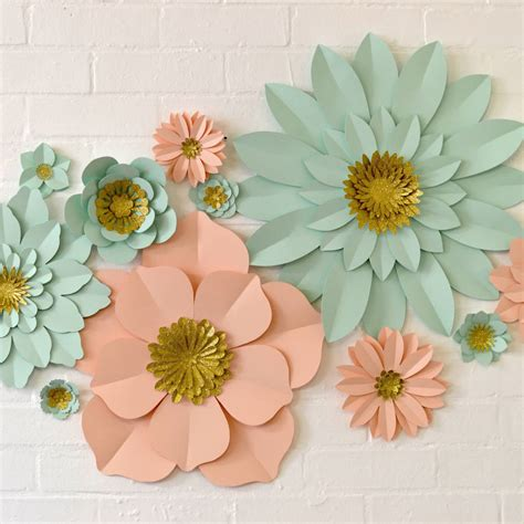 flowers decoration ideas how to decorate room with paper flowers home design 2017