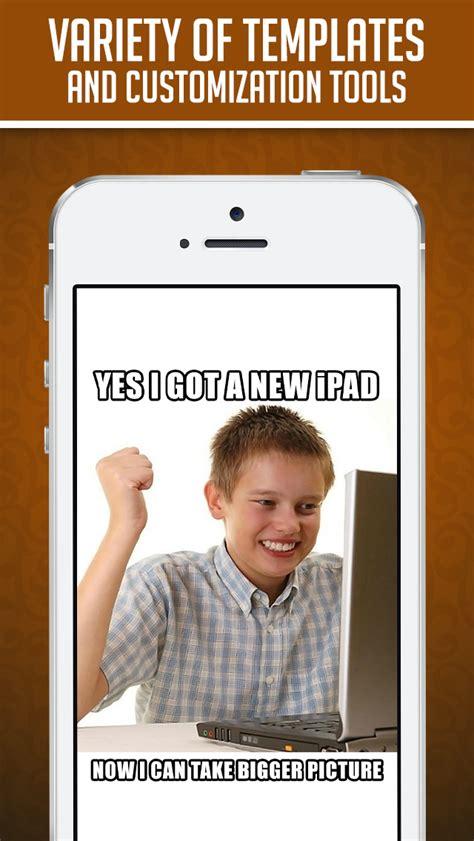 Custom Image Meme Generator - funny insta meme generator make custom memes with lol pics troll wallpapers gif photos