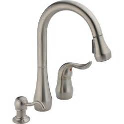 kitchen faucet lowes shop peerless stainless 1 handle pull kitchen faucet at lowes