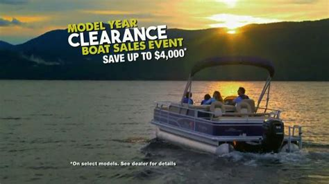 Bass Pro Shop Boat Clearance by Bass Pro Shops Model Year Clearance Boat Sales Event Tv