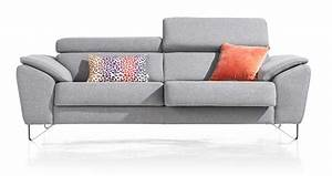 canape 3 places almada xooon home villa With canape cuir assise coulissante