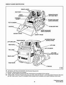 Bobcat T190 Compact Track Loader Service Repair Manual S  N 527811001