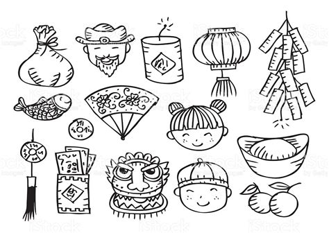 chinese  year drawing festival collections