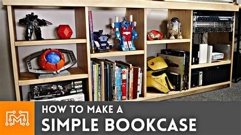 How To Make A Bookcase by How To Make A Simple Bookcase