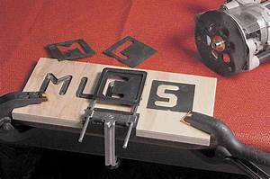 Mlcs dish cutters v groove sign lettering router letter for Routing letters into wood