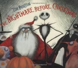 Tim Burton Nightmare Before Christmas Book