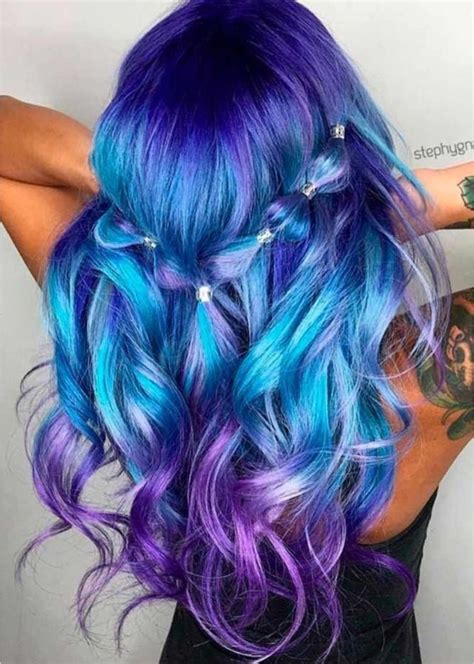 Pin By Angel Baudoin On Hairstyles Pinterest Blue