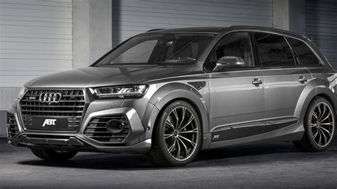 Neues Audi Q7 Facelift by 2017 Abt Sq7 Widebody Audi Q7 Facelift Unveiled