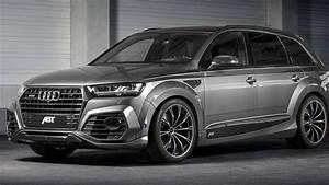 Audi Q7 Sport : 2017 abt sq7 widebody audi q7 facelift unveiled youtube ~ Medecine-chirurgie-esthetiques.com Avis de Voitures