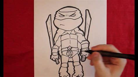 Como Dibujar Tortugas Ninja Dibujo de Tortugas Ninja