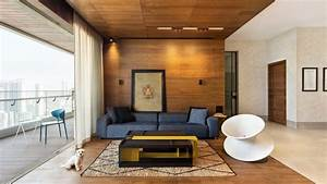 Das Apartment Living : interior design this mumbai apartment is a calming oasis in earthy tones ~ Pilothousefishingboats.com Haus und Dekorationen