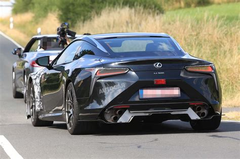 2020 Lexus Lc by Hotter 2020 Lexus Lc F Spotted Testing For The Time