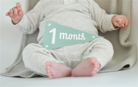 One Month Old Baby Picture Ideas Pictures To Pin On