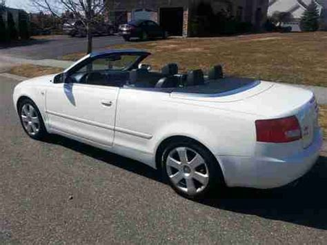 audi 4 door convertible purchase used 2004 audi a4 quattro cabriolet convertible 2