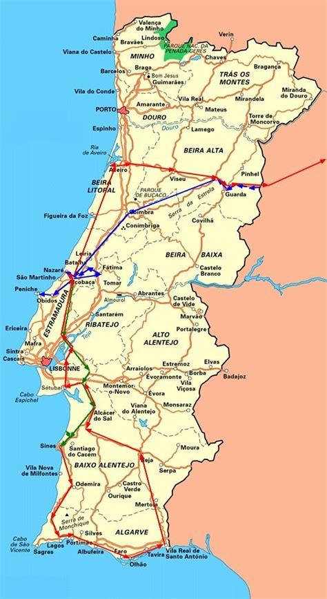 Carte Peage Espagne Portugal by Portugal Espagne