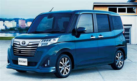 Toyota Roomy And Tank Minivans Launched In Japan Image 576052
