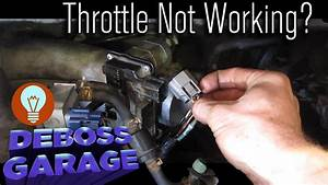 How To Replace A Throttle Body Plug  Wire