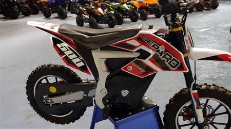 mini moto electrique batterie lithium 36 volts
