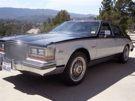 Buy Used 1981 Cadillac Seville Base Sedan 4-door 6.0l In