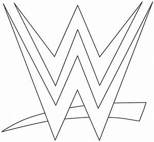 WWE Logo Coloring Page Free Printable Coloring Pages