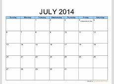 Free Printable Calendar 2018 Free Printable Calendar July