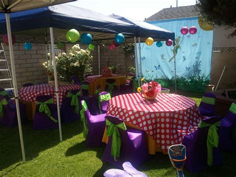 birthday party ideas for new party ideas new outdoor birthday party decoration ideas creative