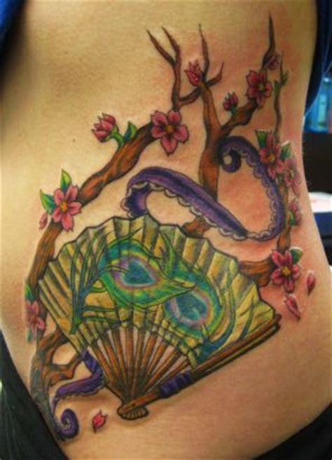 fan tattoo asian