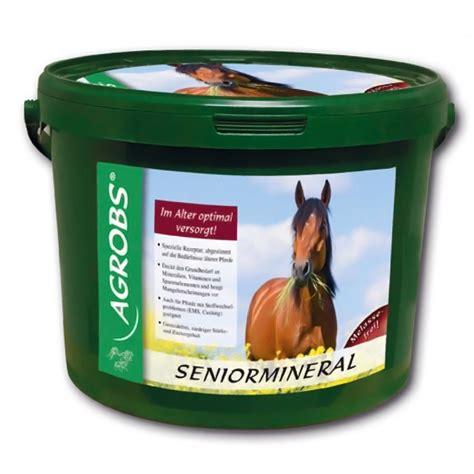 agrobs mineralfutter seniormineral fuer alte pferde