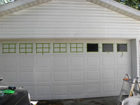 faux garage door windows faux garage door windows house to home