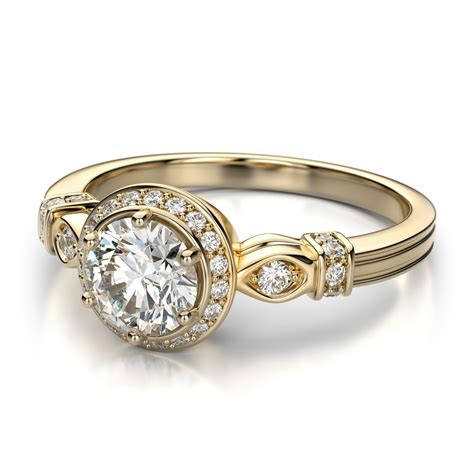 vintage engagement rings antique gold engagement rings