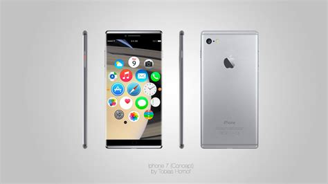 iphone 7 concept iphone 7 edge to edge rendered by tobias hornof concept