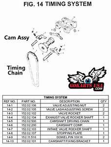 Camshaft  For Trailmaster Gy6 150 Buggy Go Kart Engine