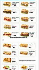 Weight Watchers Punkte Berechnen 2017 : subway points weight watchers pinterest slider sandwiches healthy treats and weight ~ Themetempest.com Abrechnung
