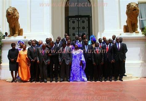 gouvernement senegalais de macky sall macky sall gouvernement et le premier conseil des ministres