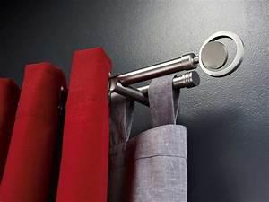 Tringle à Rideaux Double : double tringle rideaux ~ Premium-room.com Idées de Décoration