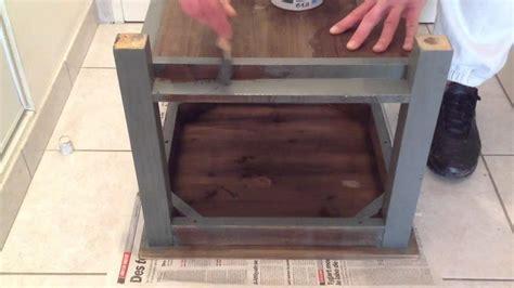 peindre un meuble en bois peinture bois