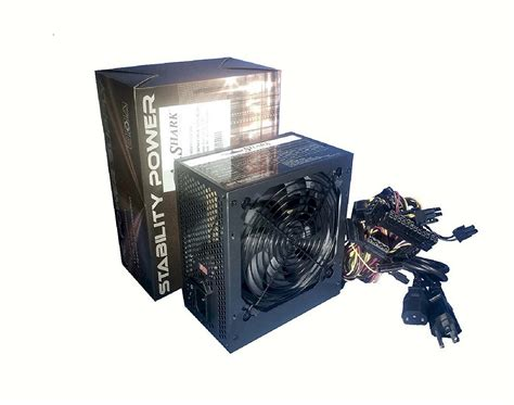 ac powered computer fan shark 650w black silent 120mm fan atx 4 8 pin 12v 6 8 pin