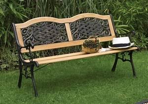 Gartenbank Metall Holz : gartenbank aus holz oder anderen materialien ~ Michelbontemps.com Haus und Dekorationen