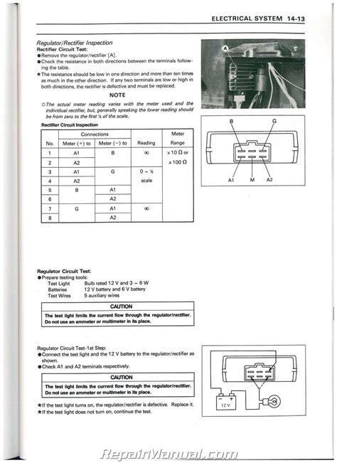 kawasaki mule  wiring schematic kaf wiring library