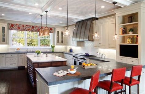 colors for small kitchens what are the perimeter countertops made of and color 5583