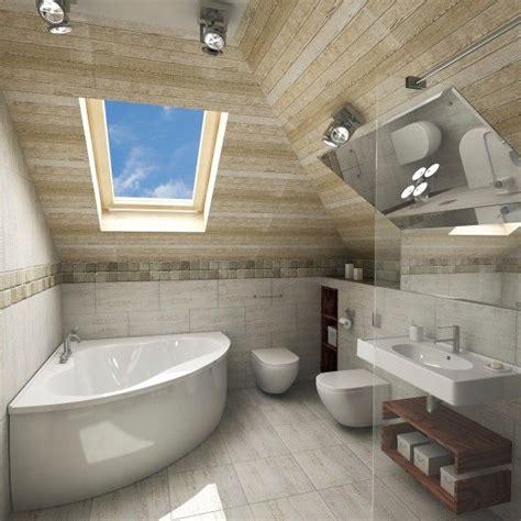 Kleines Badezimmer Schräge by Kleines Renoviertes Badezimmer Im Dachgeschoss Mit