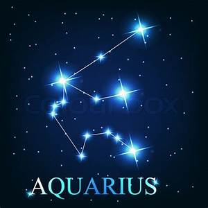 Stock vector of 'vector of the aquarius zodiac sign of the ...