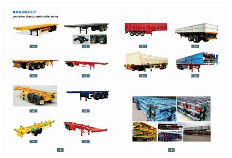 China Semi Trailer Truck China (mainland) Truck Trailer