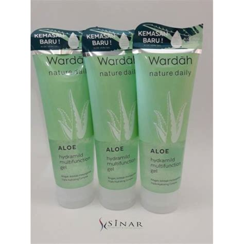 Harga Wardah Aloe Hydramild Multifunction Gel wardah aloe hydramild multifunction gel shopee indonesia