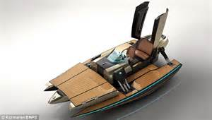 Boat Names Using Reel by Shape Shifting Speedboat Transforms Into A Catamaran At