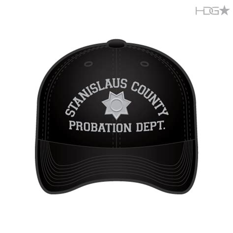 probation colors stanislaus county probation officer black grey flexfit