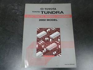 2002 Toyota Tundra Pickup Truck Electrical Wiring Diagrams