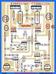 Transistor Circuit Diagram Using A1941 And C5198